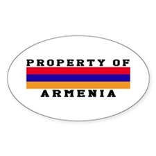 Property Of Armenia Decal