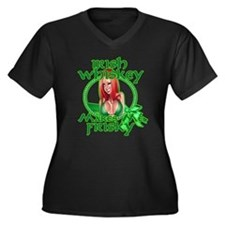 Irish Whiskey girl Plus Size T-Shirt