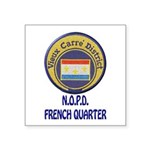 New Orleans Police French Quarter Sticker