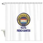 New Orleans Police French Quarter Shower Curtain