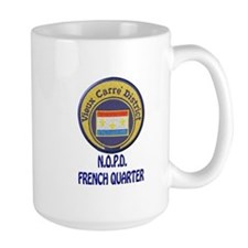 New Orleans Police French Quarter Mug