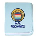 New Orleans Police French Quarter baby blanket