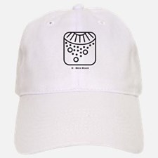 White Wizard Baseball Baseball Cap