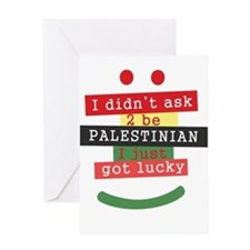 didnt ask to be Palestinian Greeting Card