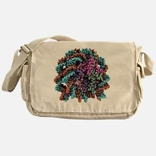 DNA nucleosome, molecular model - Messenger Bag