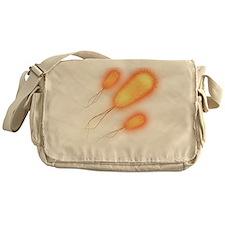 E. coli bacteria - Messenger Bag