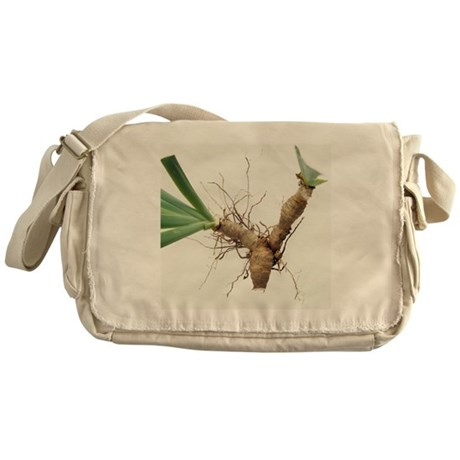 Iris rhizomes - Messenger Bag