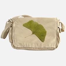 Maidenhair leaf (Ginkgo biloba) - Messenger Bag
