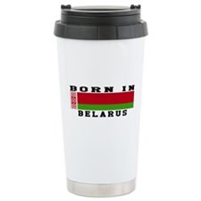 Born In Belarus Travel Mug