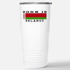 Born In Belarus Travel Mug
