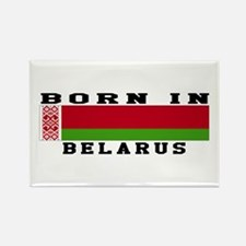 Born In Belarus Rectangle Magnet