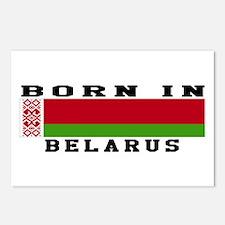 Born In Belarus Postcards (Package of 8)