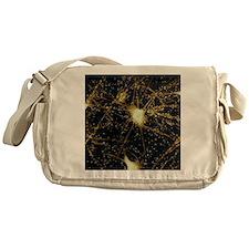 Motor neurons, light micrograph - Messenger Bag