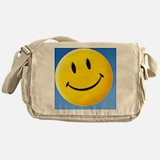 Smiley face symbol - Messenger Bag