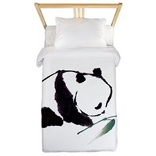 Chinese Panda art Twin Duvet