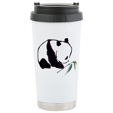 Chinese Panda art Travel Mug