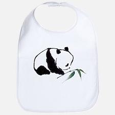 Chinese Panda art Bib