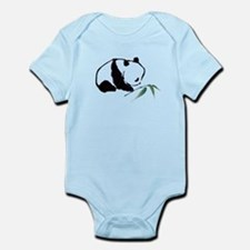 Chinese Panda art Body Suit