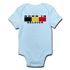 Born In Belgium Infant Bodysuit
