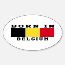 Born In Belgium Decal
