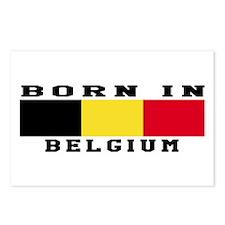 Born In Belgium Postcards (Package of 8)