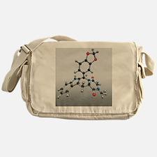 Cialis drug molecule - Messenger Bag