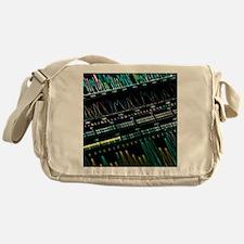 DNA analysis - Messenger Bag