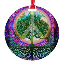 Tree of Life World Peace Ornament