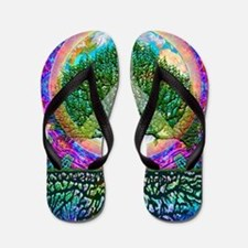 Tree of Life World Peace Flip Flops