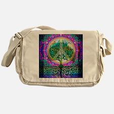 Tree of Life World Peace Messenger Bag