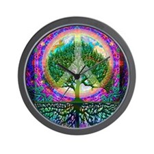 Tree of Life World Peace Wall Clock