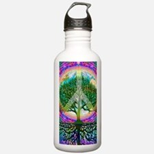 Tree of Life World Peace Water Bottle