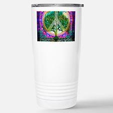 Tree of Life World Peace Travel Mug