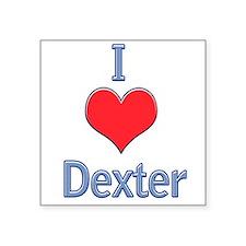 I Heart Dexter Sticker