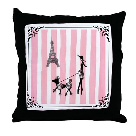 cover girls pillow Throw Pillow