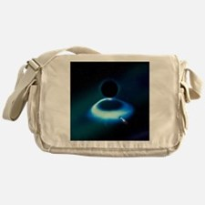 Hawking radiation research - Messenger Bag