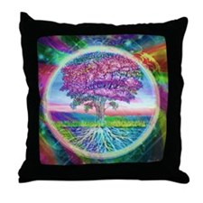 Tree of Life Blessings Throw Pillow