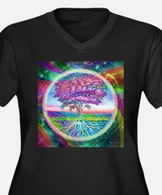 Tree of Life Blessings Plus Size T-Shirt