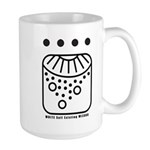 WHITE Self-Existing WIZARD Large Mug