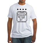 WHITE Self-Existing WIZARD Fitted T-Shirt