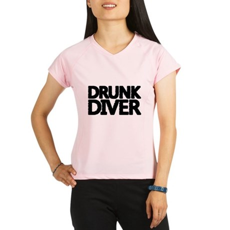 'Drunk Diver' Performance Dry T-Shirt