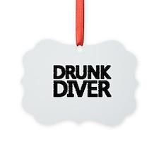 'Drunk Diver' Ornament