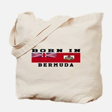 Born In Bermuda Tote Bag