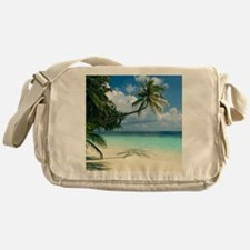 Tropical beach - Messenger Bag