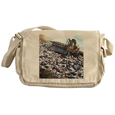 fill refuse site - Messenger Bag