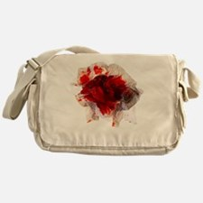 Blood stained tissue - Messenger Bag