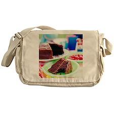 Chocolate cake - Messenger Bag