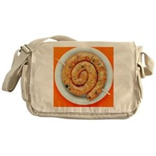 Coiled sausage - Messenger Bag