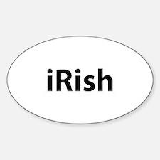 iRish Sticker (Oval)