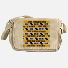 Crime scene tape - Messenger Bag